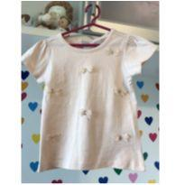 Blusa lacinhos - 3 anos - Poim, Cherokee e Up Baby