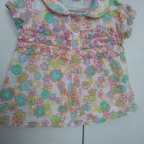 Camisa floral - 4 anos - Cara de Criança
