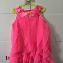 Vestido Rosa - 3 anos - Healthtex