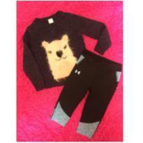 Conjuntinho Lhama Calça legging - 2 anos - Under Armour e Cat & Jack- EUA