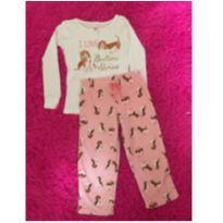 Pijama Carter's Cachorros - 3 anos - Carter`s