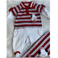 Saída maternidade Pinoti baby P - Recém Nascido - Pinoti Baby