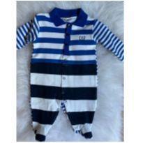 Macacão B bebê(Segunda linha da Noruega) TAM P, - 0 a 3 meses - B de bebe