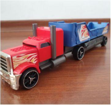 Caminhão radical Hot Wheels caçamba destrutiva - Sem faixa etaria - Hot Wheels e Mattel