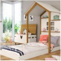 Cama montessoriana - casinha -  - Casa Tema