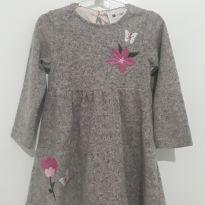 Vestido com flor - 1 ano - Poim, Cherokee e Up Baby