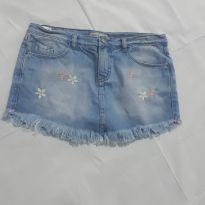 Short saia jeans - 12 anos - Palomino