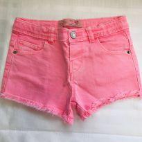 Shorts Rosa Chiclete Zara - 12/18 meses - 12 a 18 meses - Zara