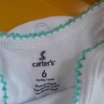 Conjuntinho carters menina - 6 meses - CARTERS/TIPTOP/ZARA