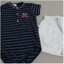 conjuntinho baby itália - 3 a 6 meses - Anjos baby