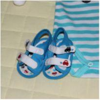 sandalhinha carrinhos azul Pimpolho N2 - 16 - Pimpolho