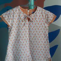 Vestido doce laranja - 1 ano - Chicco
