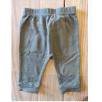 Calça algodão verde militar - 6 a 9 meses - baby kiss