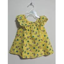 Gap Baby: regatinha amarela e florida. - 12 a 18 meses - GAP