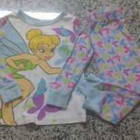 Pijama Dysney  Fada TinkerBell! - 2 anos - Disney