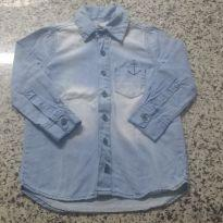 Linda Camisa Jeans Hering!! - 2 anos - Hering Kids