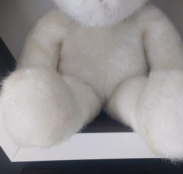 Estiloso Urso Branco !! - Sem faixa etaria - Importado