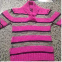 Linda blusa Rosa em Tricô!! - 4 anos - Marca não registrada
