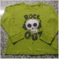 Camiseta Caveirinha importada!! - 4 anos - Jumping Beans