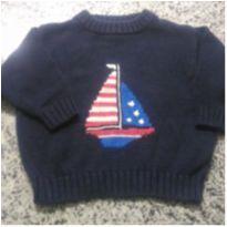 Blusa  em tricô veleiro!! - 4 anos - H.M importado USA