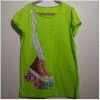 Camiseta Verde Pattins!!! - 14 anos - Place