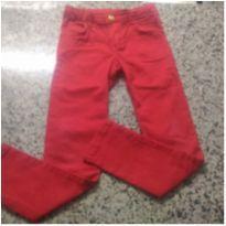 Estilosa Calça Vermelha!! - 6 anos - Momi