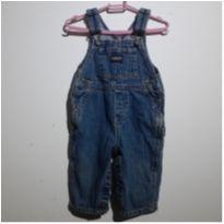 Estilosa Jardineira  Jeans !! - 6 a 9 meses - OshKosh
