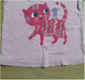 Fofo Pijama Gatinha! - 3 anos - Carter`s e Baby Gap
