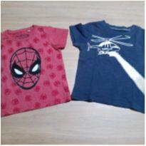 Kit 2 Camisetas! - 1 ano - Carter`s e MARVEL