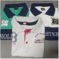 Kit Camisetas Polo!
