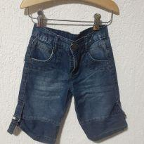 Bermuda Jeans Azul @ - 4 anos - Zanffer