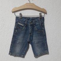 Bermuda Jeans Azul && - 4 anos - Akiyoshi