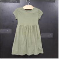 Fofo Vestido Verde! - 4 anos - Old Navy