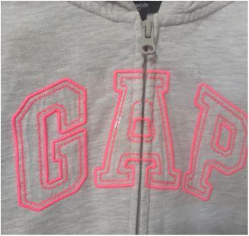 Blusa em Moletom GAP! - 6 anos - Gap Kids