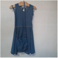 Estiloso Vestido Azul ! - 8 anos - Marca não registrada