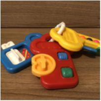 Chocalho chave de atividades Fisher Price -  - Fisher Price