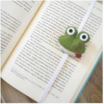 Marca livros e agendas infantil - Tema sapinho -  - Não informada