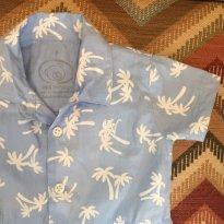 Camisa coqueiros com body Noruega - 3 meses - Noruega