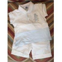 Conjunto Chicco Branco - 6 meses - Chicco