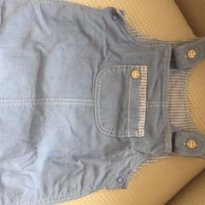 Macacao Cor Jeans Delicia HM - 3 meses - H&M