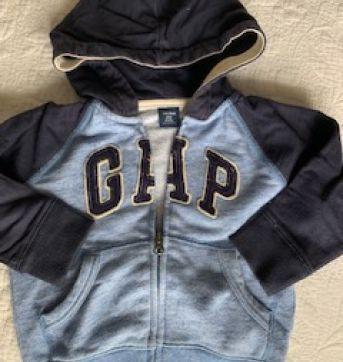 Moletom GAP com zíper e capuz - 18 a 24 meses - Baby Gap