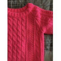 Blusa Tricot Carter's Pink - 3 anos - Carter`s