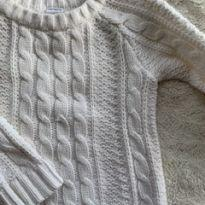 Blusa tricot Carter's nude - 3 anos - Carter`s