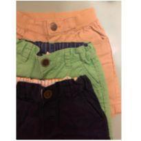Trio de Shorts H&M menino - 6 meses - H&M