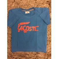Camiseta Azul Lacoste - 4 anos - Lacoste