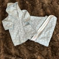 Conjunto de Roupão e cobertor - 1 ano - Sem marca