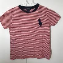 Camiseta listrada Polo Ralph Lauren - 7 anos - Ralph Lauren