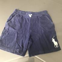 Short azul Polo - 7 anos - Ralph Lauren