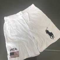 Short Branco Ralph Lauren - 7 anos - Ralph Lauren