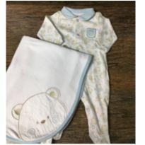 Macacão com Manta Alo Bebe - 0 a 3 meses - Alô bebê